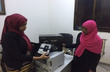 Sudanese Children's Heart Society receives a new Hand Held Echo