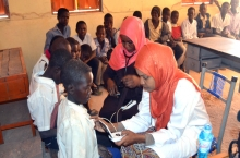 SCHS conducted a charitable and training visit to Nyala, South Darfur.
