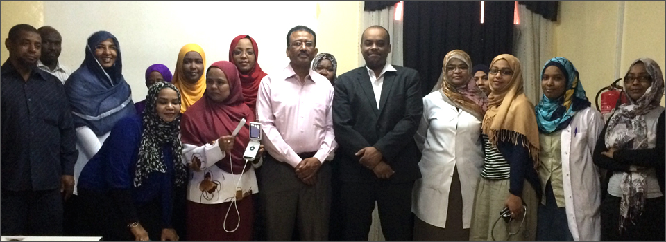 State-of-the-Art Hand Held Echocardiography Device donated to the Sudanese Children's Heart Society
