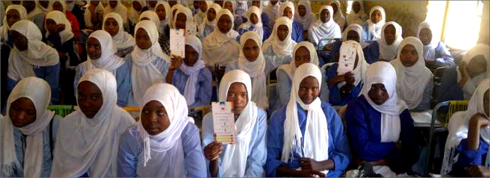 Awareness campaign by medical students at Bara (Kordofan) secondary school